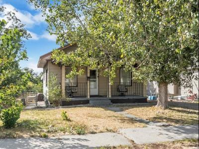 Brigham City Single Family Home For Sale: 27 N 500 W