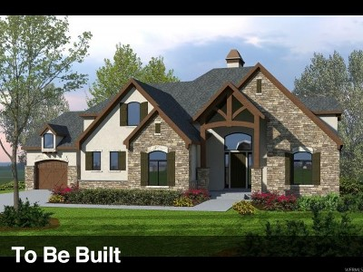 Lehi Single Family Home For Sale: 5371 N Meadowlark Ln W #LOT 8