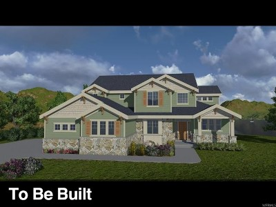 Lehi Single Family Home For Sale: 5315 N Meadowlark Ln W #LOT 12