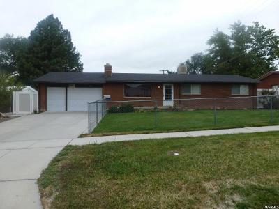 Brigham City Single Family Home For Sale: 660 S 500 E