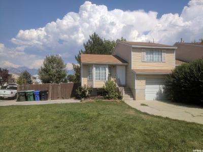 West Jordan Single Family Home For Sale: 1585 W 8740 S
