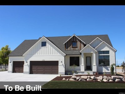 Lehi Single Family Home For Sale: 824 N 1350 W #4