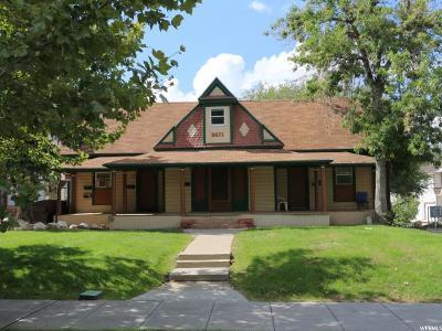 Ogden Multi Family Home For Sale: 2671 S Jefferson E