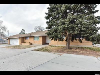 West Valley City Single Family Home For Sale: 3336 W 3100 S