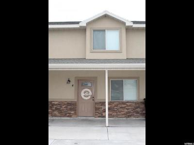 Tremonton Townhouse For Sale: 1720 E Main St #104