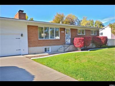 Holladay Single Family Home For Sale: 1506 Fieldcrest Ln