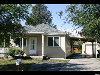 Murray Single Family Home For Sale: 4538 S 600 E