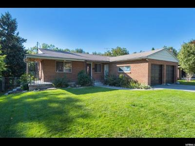 Holladay Single Family Home For Sale: 4156 S Carter Cir E