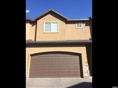 Pleasant Grove Townhouse For Sale: 738 W 260 S