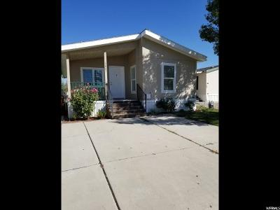 Salt Lake City Single Family Home For Sale: 3661 S Birch River Rd W #169
