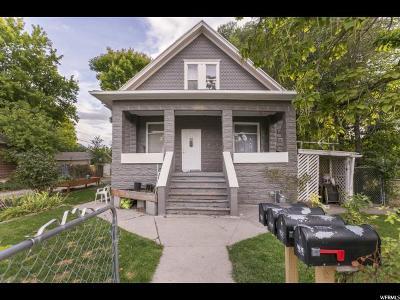 Salt Lake City Single Family Home For Sale: 764 E Garfield Ave S