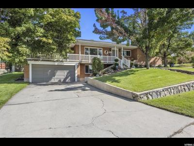 Holladay Single Family Home For Sale: 1761 S Woodside