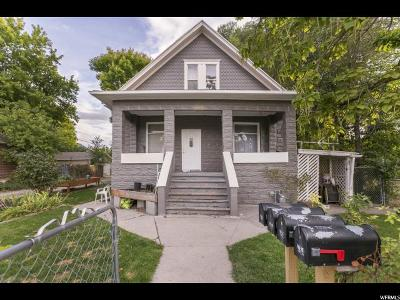 Salt Lake City Multi Family Home For Sale: 764 E Garfield Ave S