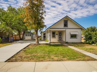 Brigham City Single Family Home For Sale: 245 N 400 W
