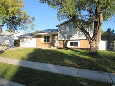 West Jordan Single Family Home For Sale: 4996 W Gaskill Way S