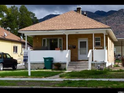 Ogden UT Single Family Home For Sale: $143,000