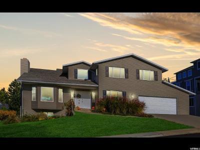 Orem Single Family Home For Sale: 1659 N Mountain Oaks Dr