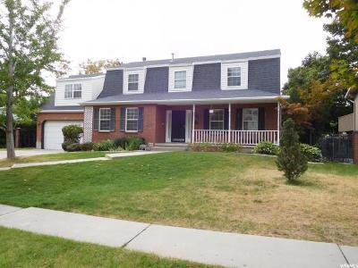Orem Single Family Home For Sale: 342 S Pallisades Dr