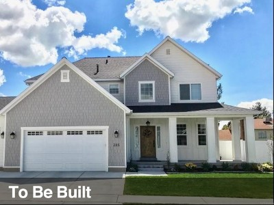 Orem Single Family Home For Sale: 1828 N 860 W #7