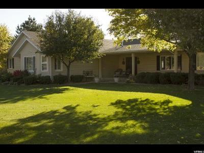 Spanish Fork Single Family Home For Sale: 8722 S 420 E