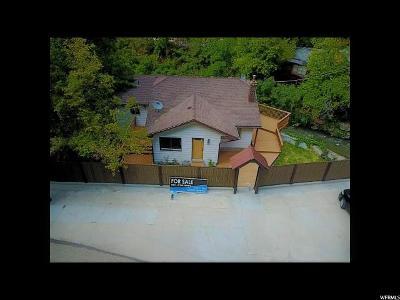 Ogden Single Family Home For Sale: 311 Ogden Canyon S
