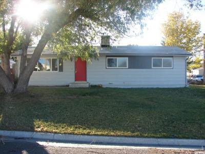 Orangeville Single Family Home For Sale: 285 W 300 N
