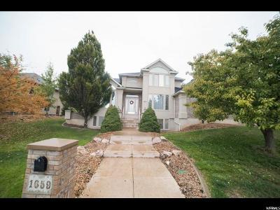 Layton Single Family Home For Sale: 1659 E 2400 N