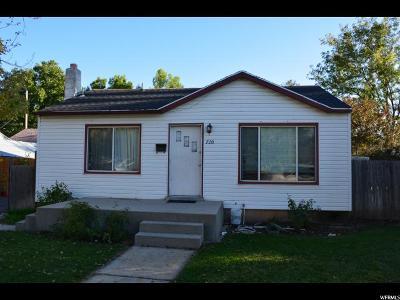 Springville Single Family Home For Sale: 720 E Center