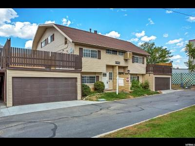 West Valley City Townhouse For Sale: 1774 W Homestead Farms Ln W #1