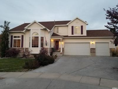 Stansbury Park Single Family Home For Sale: 5626 Crenshaw Cir N #119