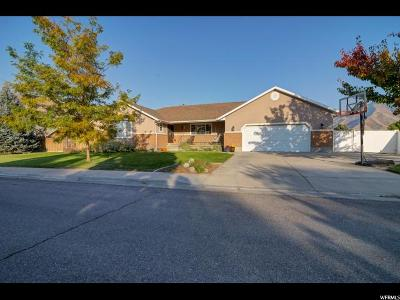 Mapleton Single Family Home For Sale: 1372 N 1380 W