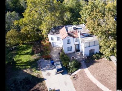 Salt Lake City Single Family Home For Sale: 980 S Military Dr