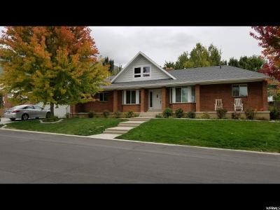 Orem Single Family Home For Sale: 1698 N Sage Hen Rd