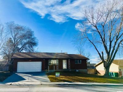 Orem Single Family Home For Sale: 1101 W 1340 N
