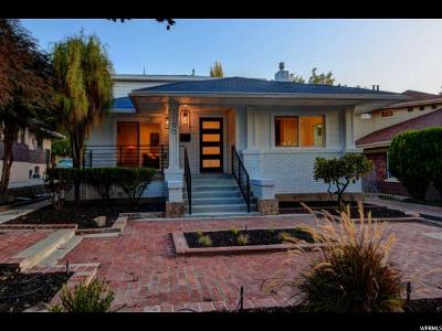 Salt Lake City Single Family Home For Sale: 1150 E Herbert Ave