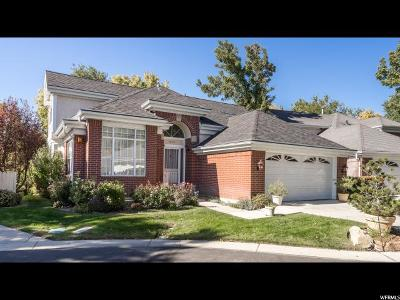 Salt Lake City Single Family Home For Sale: 2073 E Harvard Oaks Cir S