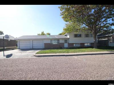 Single Family Home For Sale: 279 N 150 E