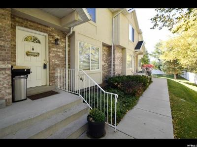 Orem Townhouse For Sale: 367 E 760 N