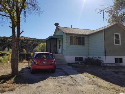 Huntington UT Single Family Home For Sale: $250,000