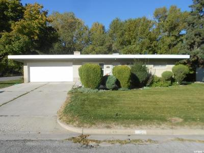 Brigham City Single Family Home For Sale: 5 N 700 E