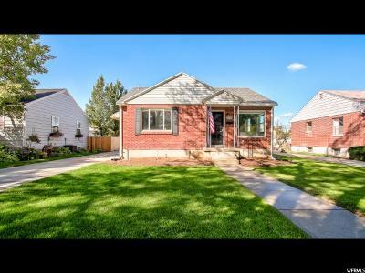 Salt Lake City Single Family Home For Sale: 2846 S Filmore St E
