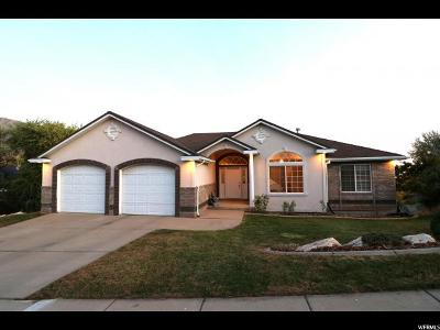 Layton Single Family Home For Sale: 1434 E 2400 N