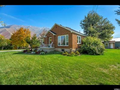 Mapleton Single Family Home For Sale: 395 W 1600 S