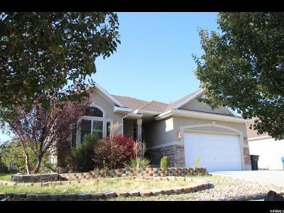 Stansbury Park Single Family Home For Sale: 329 E Interlochen Ln