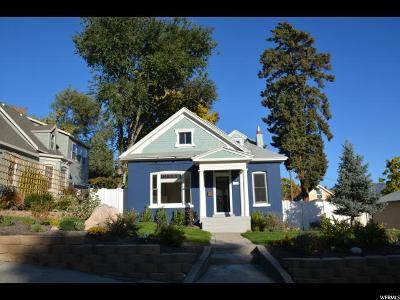 Salt Lake City Single Family Home For Sale: 428 N H St E