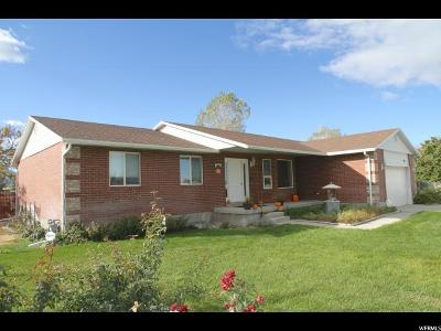 Erda Single Family Home For Sale: 986 E Bates Canyon Rd