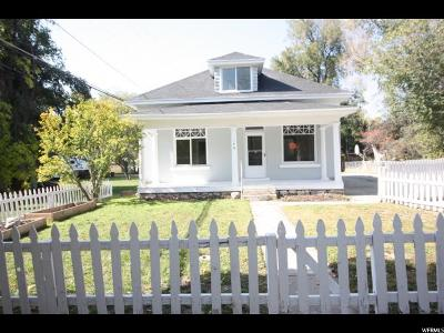 Provo Single Family Home For Sale: 146 S 400 W