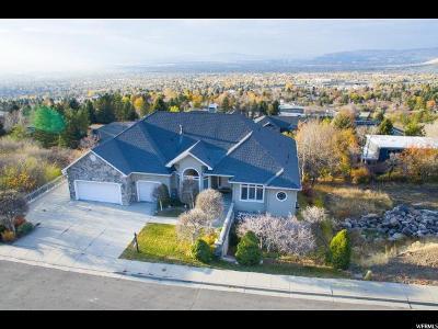 Salt Lake City Single Family Home For Sale: 3851 E Viewcrest Dr