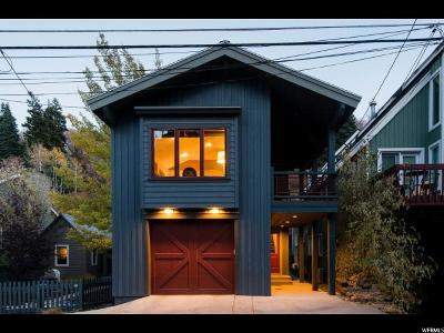 Park City Single Family Home For Sale: 135 Daly Ave