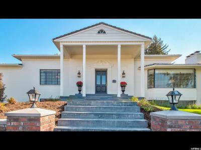 Salt Lake City UT Single Family Home For Sale: $997,000